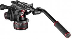 Manfrotto Nitrotech 612 Fluid Video Head with Continuous Counterbalance Systém from 4 up to 12 Kg