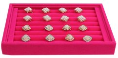 Tray for pink rings, width 22cm