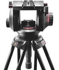 Manfrotto 509HD, 509 Fluid Video Head with 100mm half ball