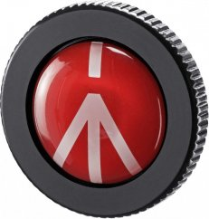 Manfrotto ROUND-PL, Round Quick Release Plate for Compact Action