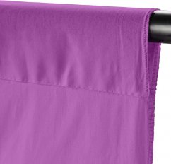 Walimex Fabric Background (100% cotton) 2.85x6m (Signal Violet)