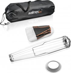 Walimex pro Lantern 50 quick 360° Ambient Light Softbox 50cm for Hensel EH/Richter