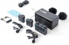 Hollyland LARK 150 2-Person Compact Digital Wireless Microphone System (2.4 GHz, Black)