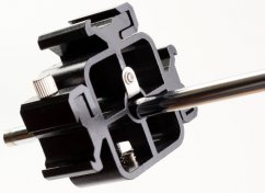 """forDSLR 3-hotshoe Mount Adapter with 1/4"""" or 3/8"""" Thread Female"""