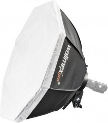 Walimex Octagon Softbox Diameter 60cm for Compact Flashes