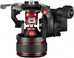 Manfrotto Nitrotech 608 Fluid Video Head with Continuous Counterbalance Systém up to 8 Kg