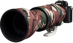 easyCover Lens Oaks Protect for Sony FE 100-400mm f/4.5-5.6 GM OSS ( Brown camouflage)