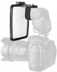 Walimex Reflektor (Gold, Silver) + Diffusor for Compact Flashes