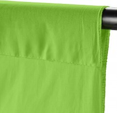 Walimex Fabric Background (100% cotton) 2.85x6m (Apple Green)