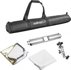 Walimex pro 5in1 Collapsible Reflector & Diffusor Panel 110x110cm