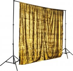 Walimex pro Sequins Background 260 x 240 cm (Gold)