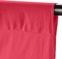 Walimex Fabric Background (100% cotton) 2.85x6m (Light red)