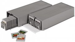 """Hama """"100"""" Stackable Slide Box, with 2 Magazines for 50 Slides"""