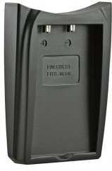 Jupio Charger Plate on Single or Dual Charger for Olympus BLS1/ BLS5/ BLS50
