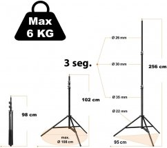 Walimex Boom Stand Deluxe 100-460cm, 4-6kg