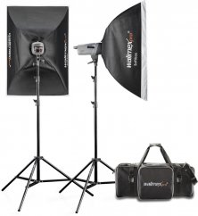 Walimex pro VE Set Classic 200/200 Ws (2x Softbox + Stand)