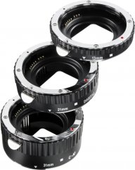 Walimex pro Auto Extension Ring Set for Nikon F