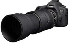easyCover Lens Oaks Protect for Sigma 100-400mm f/5-6.3 DG OS HSM Contemporary (Black)
