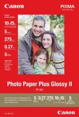 Canon PP-201 Glossy II Photo Paper Plus 10x15cm - 5 Sheets