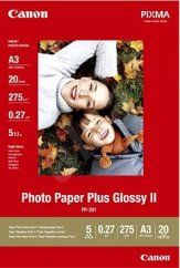 Canon PP-201 Glossy II Photo Paper Plus A3 - 20 Sheets