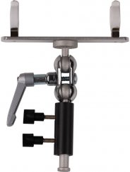Nanlite T12 PavoTube Holder with Swivel Ball Joint and 5/8″ Baby Pin