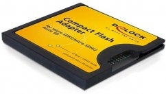 Delock Compact Flash Type I Adapter for Micro SD Memory Cards