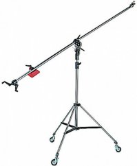 Manfrotto 025BS, Black Light Boom (Stand Included)