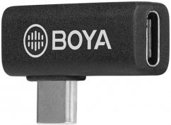 BOYA BY-K5 Type-C Male to Type-C Female Adapter 90 Degree Angle