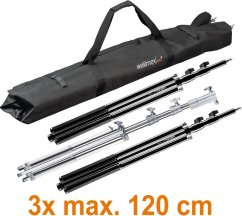Walimex pro Carrying Bag Vario 120cm for 3 Stands or Background Systems