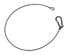 Avenger Safety Cable 100 cm, 4mm Thick, Payload 30kg