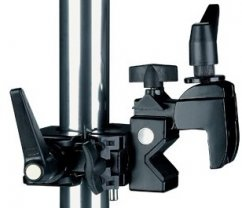 Studio clamp with double pin