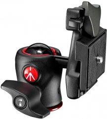 Manfrotto 490 Centre Ball Head with  RC2 200LT-PL plate