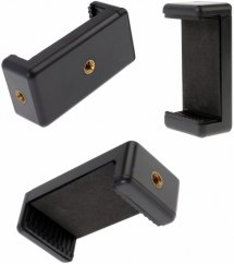"""forDSLR Universal Phone Holder with 2 Threads 1/4"""""""
