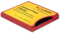 Delock Compact Flash Type II Adapter for iSDIO (WiFi SD), SDHC, SDXC Memory Cards