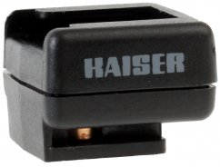 Kaiser Flash Adapter for PC output with foot without center contact