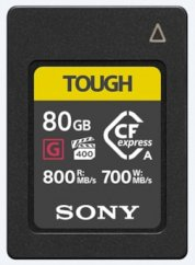 Sony 80GB CEA-G Series CFexpress Type A Memory Card