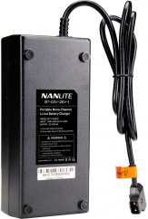 Nanlite Battery Charger for Single 26V V-mount Battery with D-Tap Connector