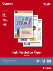Canon HR-101N High Resolution Paper A3 - 100 Sheets