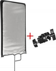 Walimex pro 4in1 Reflector Panel 75x90cm + clamp