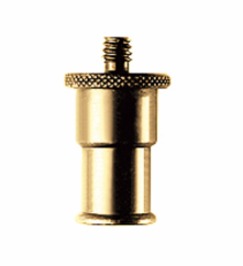 """Manfrotto 195, 16mm Male Adapter 1/4"""" to 5/8"""""""
