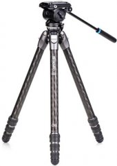 Benro Tortoise Carbon Tripod 34CLV with S4PRO Video Head