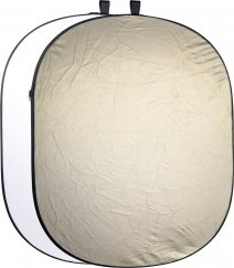 Walimex pro 2in1 Foldable Reflector 145x200cm Wavygold/White