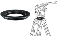Manfrotto 319, Adapter 75Mm Ball To 100mm Bowl