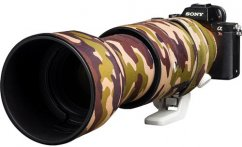 easyCover Lens Oaks Protect for Sony FE 100-400mm f/4.5-5.6 GM OSS (Green camouflage)