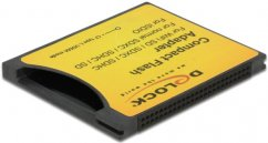 Delock Compact Flash Type I Adapter for iSDIO (WiFi SD), SDHC, SDXC Memory Cards