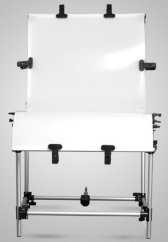 Opal board white 60x130cm for photo table