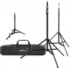 Walimex Lamp Stand Set with Bag, 4 pcs.