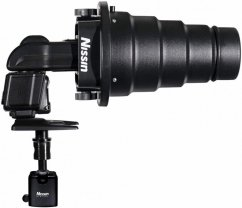 Nissin Light Shaping Kit (Universal Mount, Snoot Cone with Honeycomb, Beauty Dish, Softbox for Beauty Dish with Honeycomb)