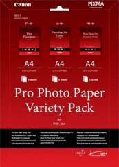Canon PVP- 201 Pro Photo Paper Variety Pack A4 - 15 Sheets