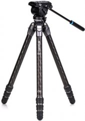 Benro Tortoise Carbon Tripod 24CLV with S4PRO Video Hea